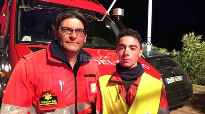 Ventimiglia soccorsi migrante