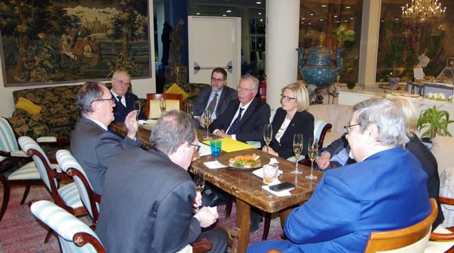 visita del Governatore del distretto 108Ia3, Mauro Bianchi, ai Lions Club Bordighera