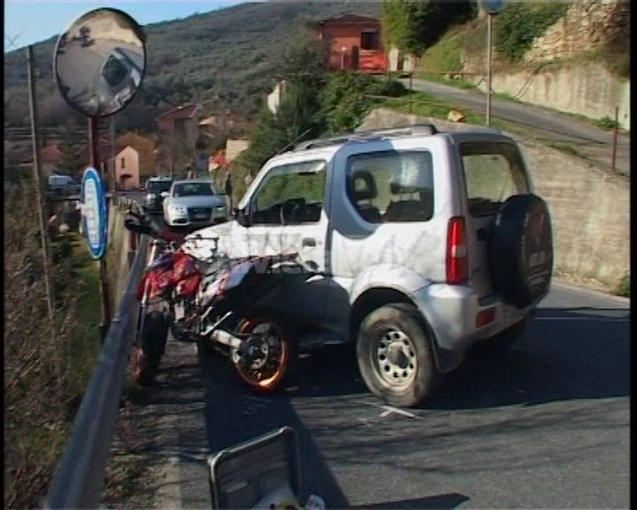 incidente stradale Prelà