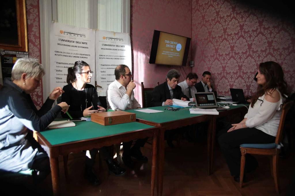 Sanremo 7 studenti ottengono la 39 laurea in grafica e for Accademia belle arti design