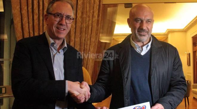 Riviera24 - Alberto Biancheri e Sergio Pirozzi (sindaco di Amatrice)