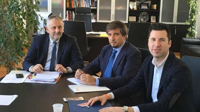 riviera24 - Fabio Refrigeri, Giacomo Raul Giampedrone e Vincenzo Ceccarelli