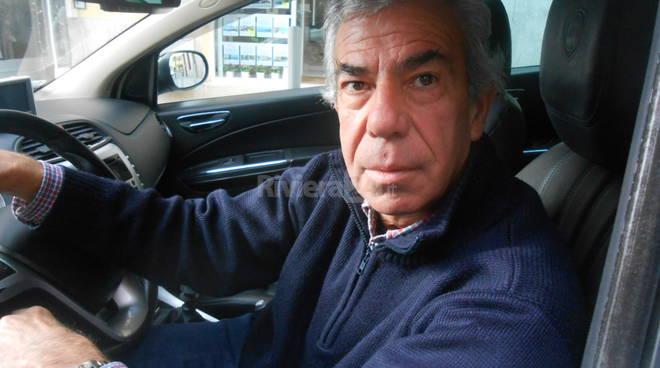 Riviera24 - Franco De Lunghi tassista Sanremo