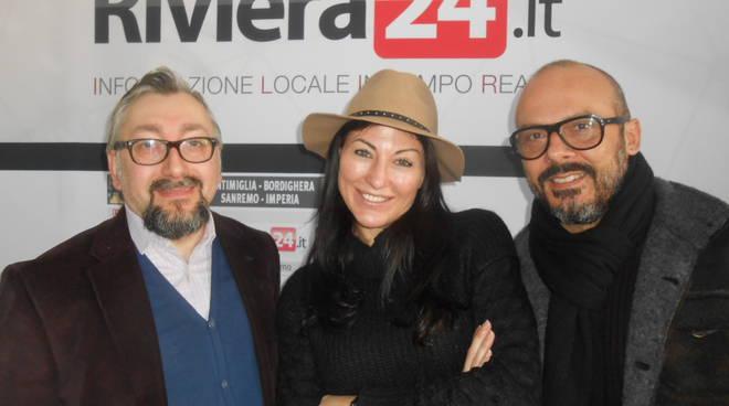 Riviera24 - Freddy Colt, Katia ferrante e Amedeo Grisi opinionisti festival 2017 (2)