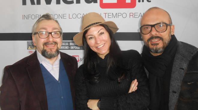 Riviera24 - Freddy Colt, Katia ferrante e Amedeo Grisi opinionisti festival 2017