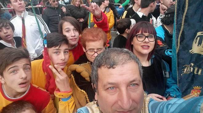 riviera24 - Il Sestiere Burgu al corteo storico di Taggia