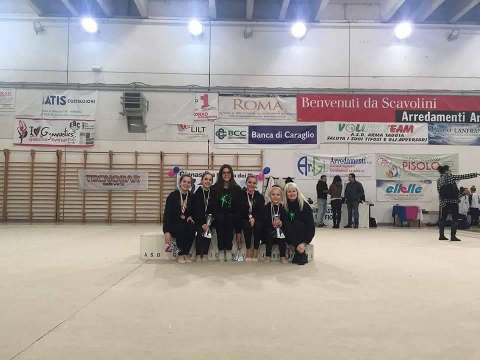 riviera24 - Taggia, Campionato Regionale di Ginnastica Ritmica individuale
