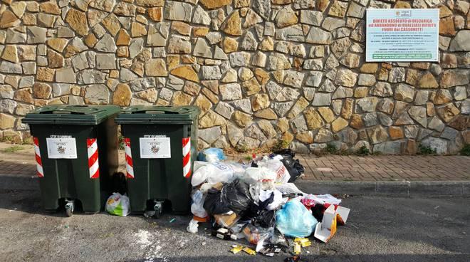 Spazzatura e raccolta differenziata a Sanremo
