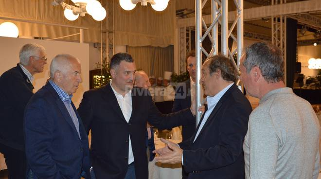 Aria di grandi campioni a Sanremo per la Pro Am Lions di Golf: sua maestà le roi Michel Platini