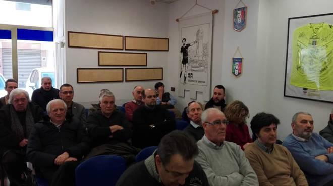 Delegazione di osservatori OTS della sezione di Imperia all'Oa day a Savona