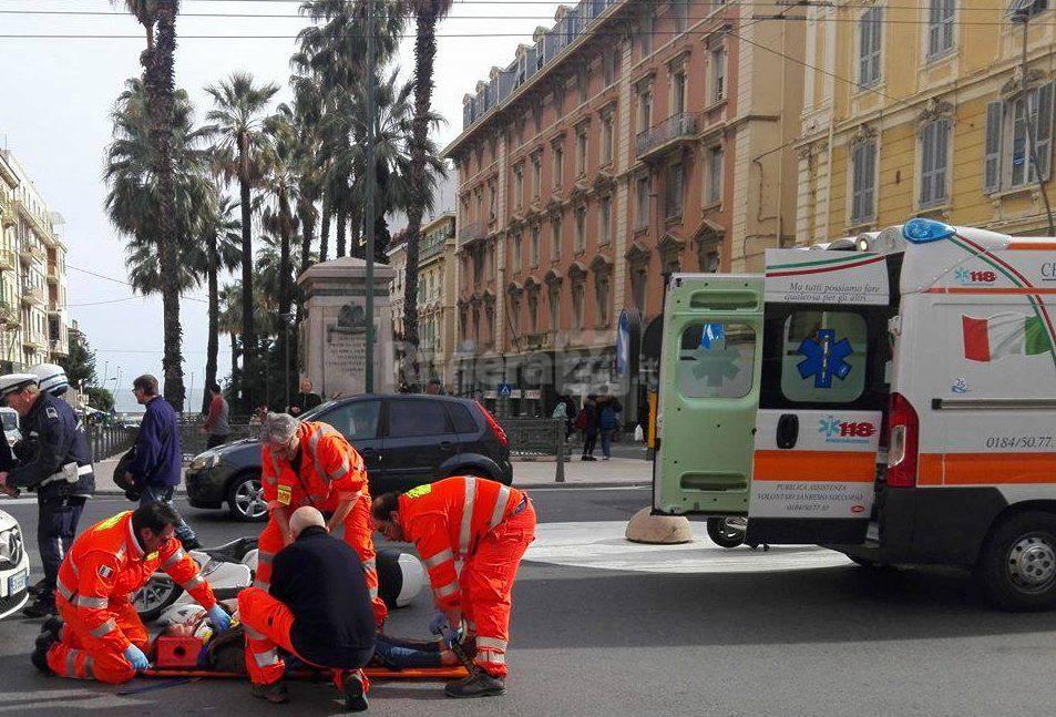 Incidente via Roma Sanremo