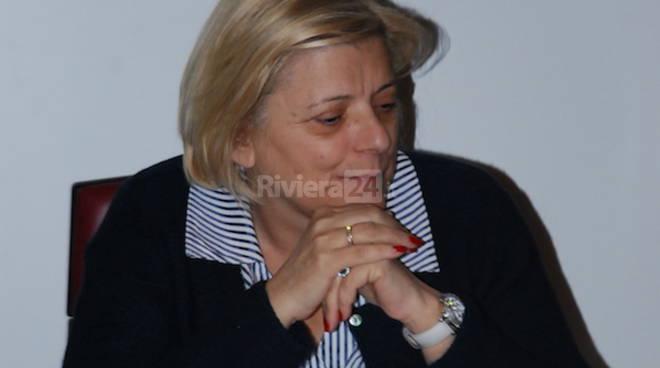 Laura Puppato e Donatella Albano a Ventimiglia
