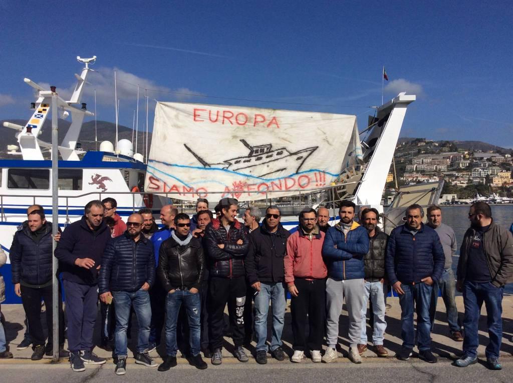 Protesta pescatori