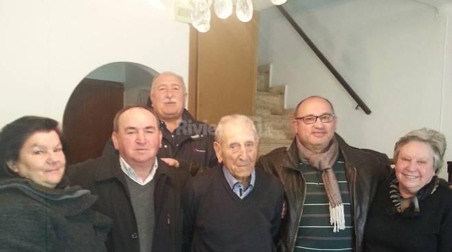 Riviera24 - 105 anni Guido Faissola Castelvittorio