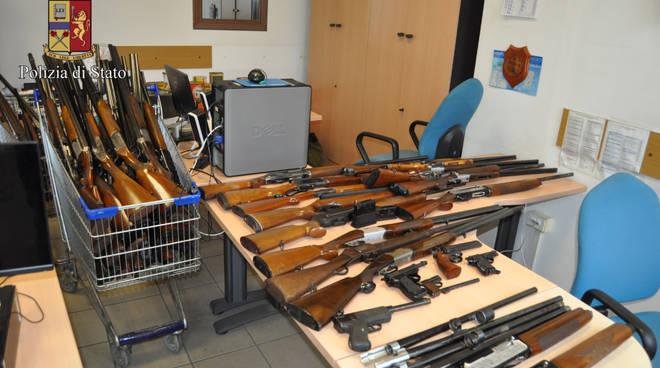 riviera24 - armi sequestro sanremo polizia