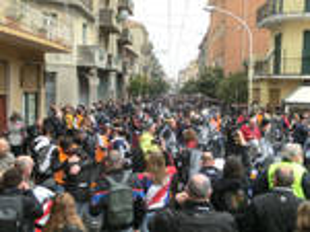 riviera24 - Benedizione delle moto a Taggia