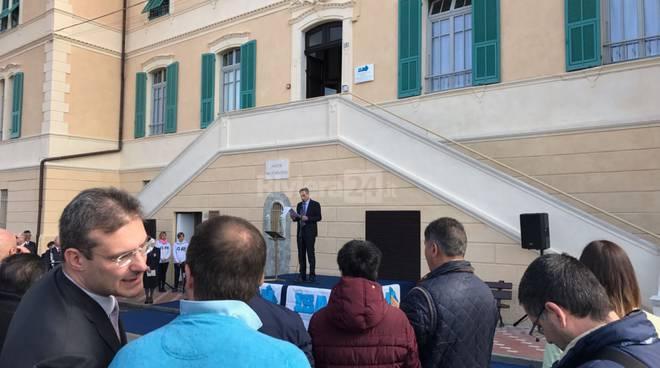 riviera24 - Cerimonia di fine lavori restauro alla sede storica ISAH