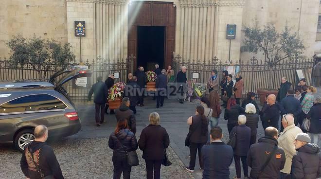 riviera24 - funerale Massimo Contatti  Anna Maria Baricordi