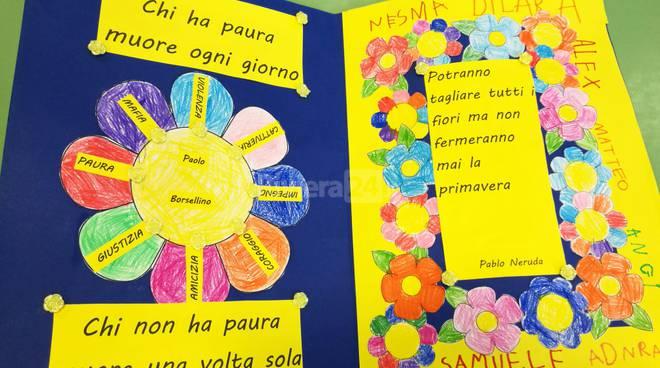 Riviera24 - Giornata legalità scuola infanzia Cavour  Ventimiglia 2017