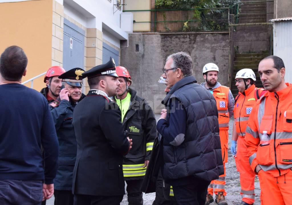 riviera24 - incendio appartamento via mongioie sanremo