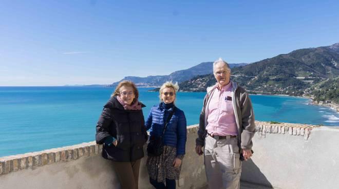 riviera24 - Marcus Bicknell visita il Museo Rossi