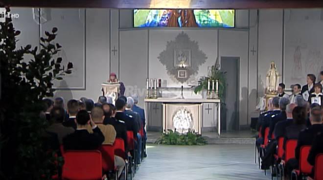 Riviera24 - messa domenicale carcere Sanremo Rai 1