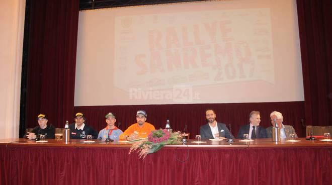 riviera24 - Presentazione di #RallyeSanremo