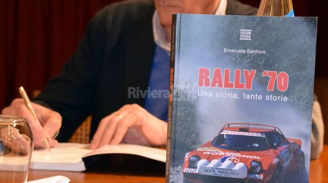 """Sanremo, presentato """"Rally & Book"""": i motori scritti da autori, giornalisti, piloti e navigatori"""