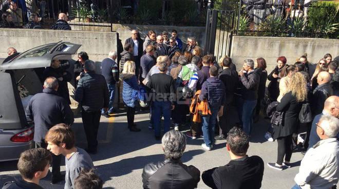 Ventimiglia, funerale di Simone Terrana