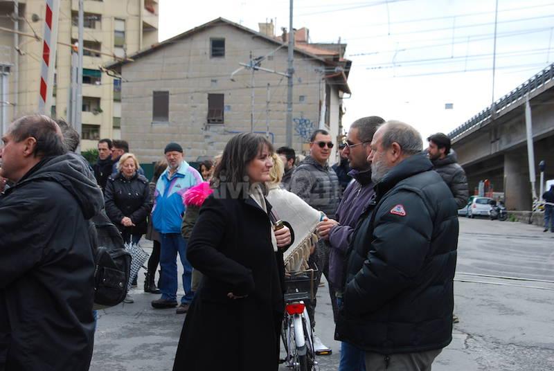 Ventimiglia manifestazione Lega nord