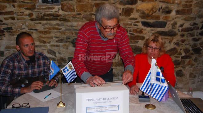 Elezioni principe di Seborga