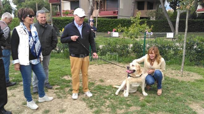 Inaugurata a San Martino un'area per i cani