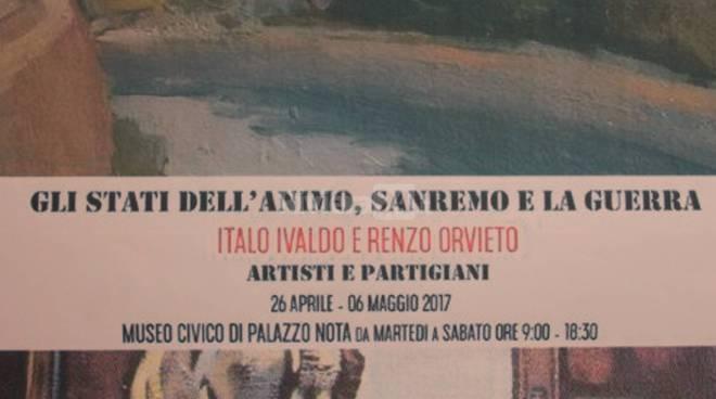 """Inaugurazione mostra """"Gli stati dell'animo, Sanremo e la Guerra"""""""