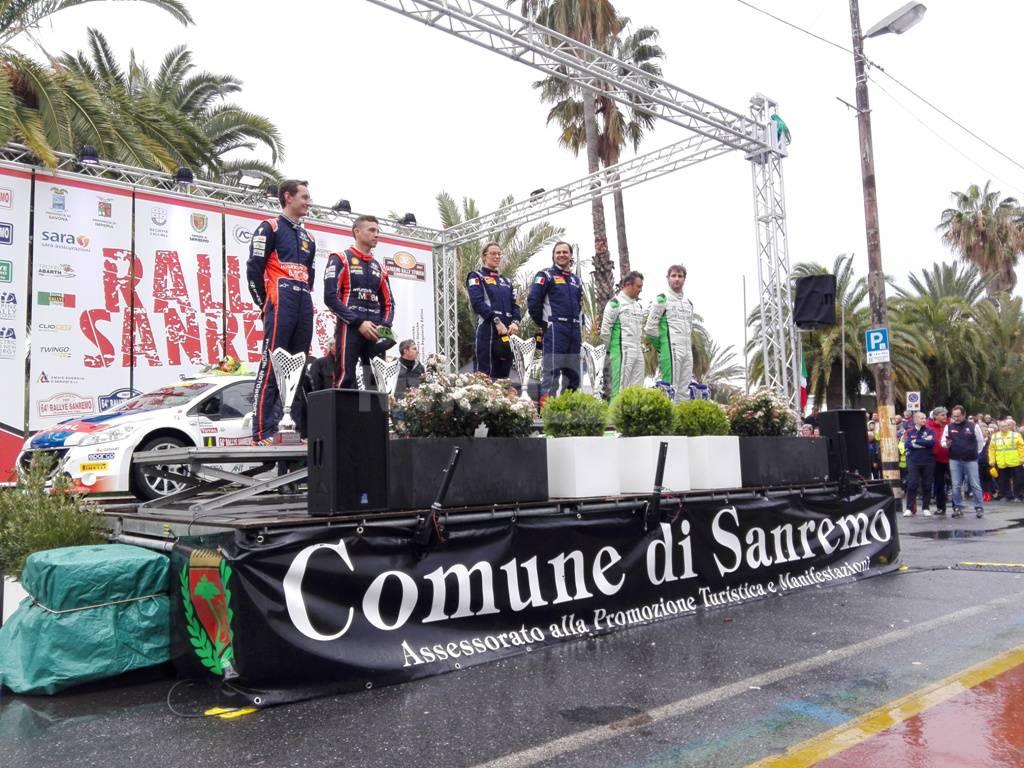 La Peugeot 208 di Andreucci-Andreussi vince per la terza volta il Rally di Sanremo