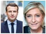 le pen macron collage