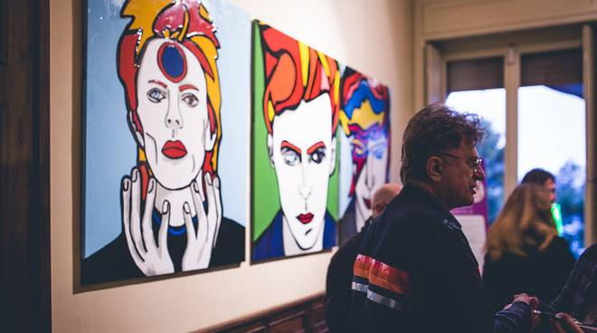 "riviera24 - ""David Bowie. The Real face"" a Imperia"