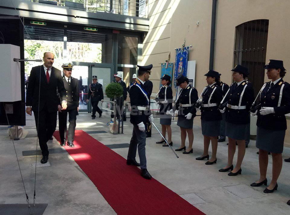 riviera24 - Festa della polizia a Imperia
