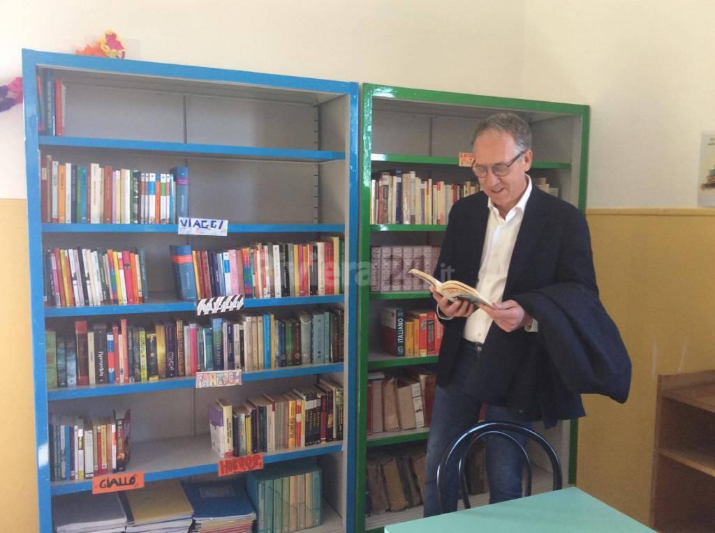 Riviera24 - Inaugurazione biblioteca scuola media di Coldirodi
