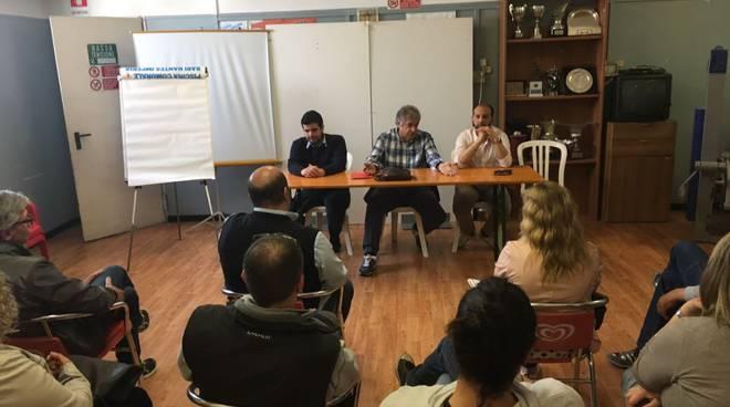 riviera24 -Incontro tra Vassallo e genitori Rari Nantes