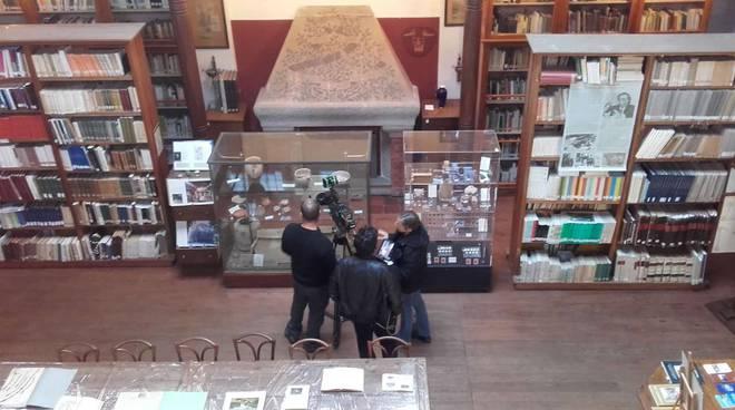 """riviera24 - La troupe di """"Geo & Geo"""" ospite al Museo Bicknell di Bordighera"""