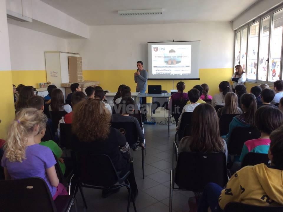 Riviera24 - Mauro Ozenda cyberbullismo scuole
