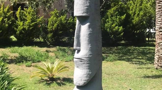 Tronchi Di Palma Secchi O Decapitati Per Il Punteruolo Rosso A