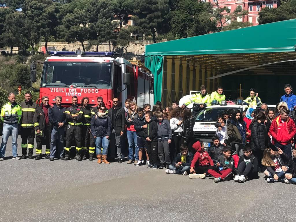 riviera24 - Protezione civile nelle scuole