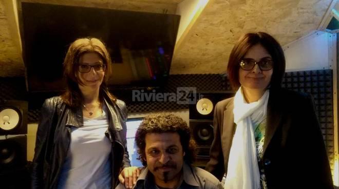 riviera24 - Enzo Federico, Serena Di Peri e Silvana Orrao