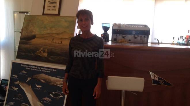 Riviera24 - Sabina Airoldi Gianni Manuguerra incontro su santuario die cetacei Pelagos