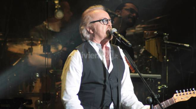 Riviera24 - Sanremo, Umberto Tozzi in concerto all'Ariston