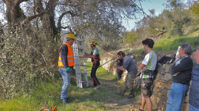 riviera24 - Seborga, corso su lavori in altezza