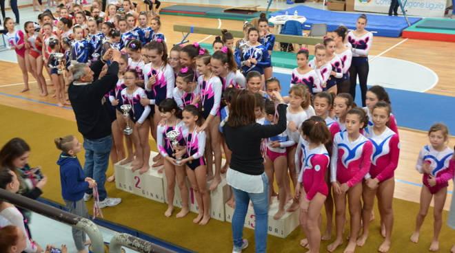 riviera24 - Taggia, Campionato Regionale Serie D di ginnastica artistica femminile e minitrampolino