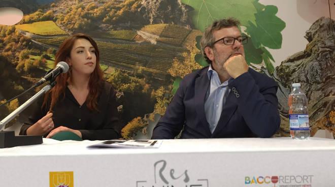 riviera24 -Vinitaly, Chiara e Alfio Antognetti