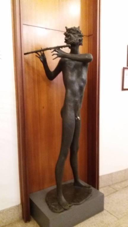 Sanremo Casino statue Cica Cica, Orfeo e Fauno